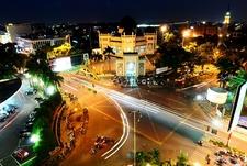 Square Near Masjid Raya - Medan - Sumatra ID