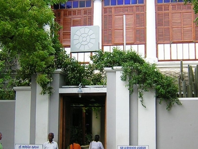 Sri Aurobindo Ashram Main Building Puducherry