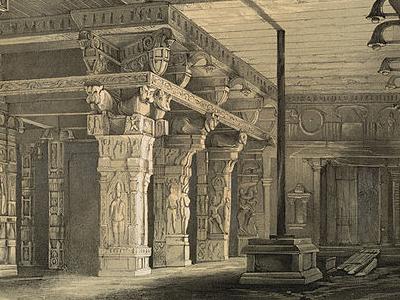 Sri Ramamswamy Temple, Kumbakonam, Ca 1847