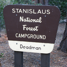 Stanislaus Deadman Campground