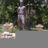 Statue Of John Brown In Osawatomie