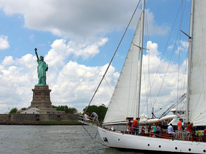 Statue of Liberty Tall Ship Sailing Cruise Photos