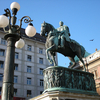 Statue Of Prince Mihailo III - Serbia And Montenegro
