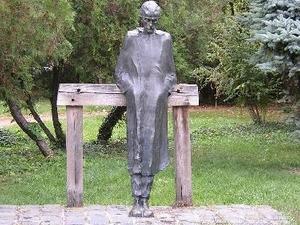 Statue of Radnóti Miklós