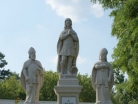 Statues of rain-forecasting Saints