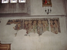 St. Michael's Cathedral Fresco Remains In Cluj