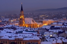 St. Michael's Cathedral In Cluj-Napoca