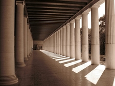 Stoa Of Attalos - Ancient Agora @ Athens