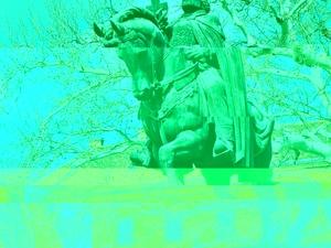 St. Stephen's Equestrian Statue