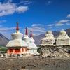 Stupas In Leh - Ladakh - India