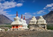 Stupas In Leh - Ladakh