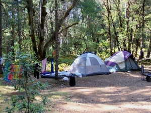 Sulphur Springs Trail Camp