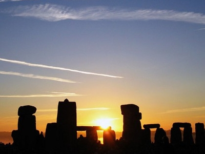 Sunrise Over Stonehenge On The Summer Solstice, 21 June 2005