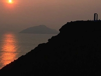 Sunset at the Cape Sounion Half Day Tour