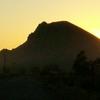 Sunset Over Malheur Butte