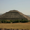 Sun Teotihuacan With Crowd