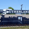 Sutherland Entrance Sign