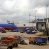 Ramp Operations At Hobby Airport