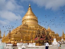 Swezigon Pagoda - Bagan