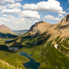 Swiftcurrent Pass Trail At Glacier - Montana - USA