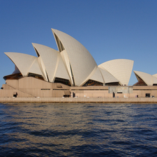 Sydney Opera House Side View
