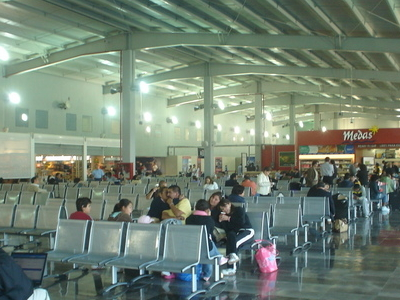 Interior View Of The Airport