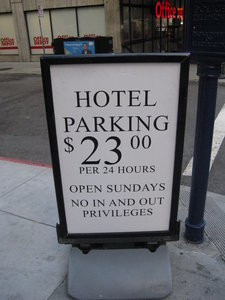 San Francisco Parking Rates