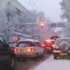 Snow In Аlmaty