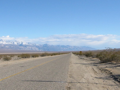 SR 190 In Panamint Valley