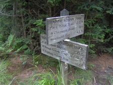 The Sugarland Mountain Trail Terminus