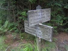 The Sugarland Mountain Trail Terminus