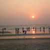 Sunset At Payyambalam Beach