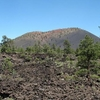 Sunset Crater From Lava Flow