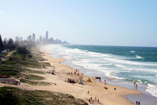 Surfers Paradise Beach Queensland