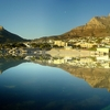Table Mountain Panorama Reflecting In Camps Bay - Cape Town SA