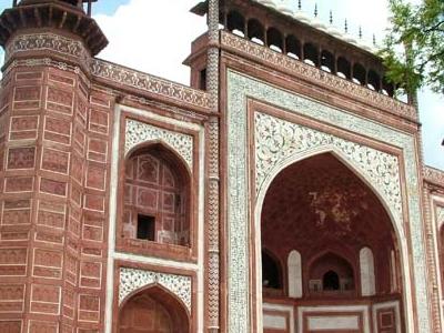 Taj Mahal The Great Gate