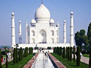 Moon Light View of Taj Mahal Photos