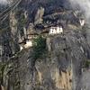 Taktsang Amidst Clouds @ Paro Bhutan