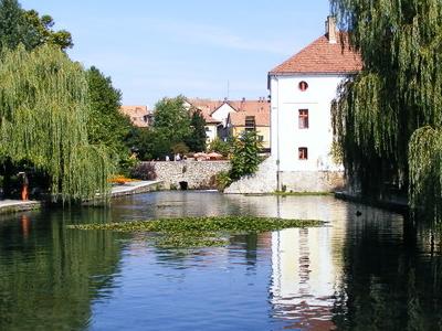Tapolca     Old  Mill     Lake  Malom