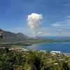 Tavurvur Volcano From Rabaul PNG
