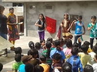 Teaching Volunteer Work India