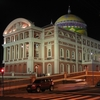 Teatro Amazonas At Night