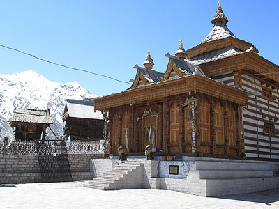 Temple At Chitkul