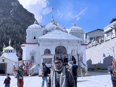 Temple In Gangotri UT Himalayas