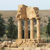 Temple Of Castor And Pollux - Agrigento - Sicily - Italy