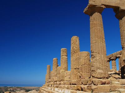 Temple Of Juno Lacinia - Agrigento - Sicily - Italy