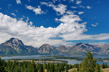 Teton Range - Shaded By The Clouds