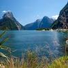 Te Wahipounamu With Mitre Peak - Southland NZ