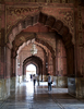 The Arches Inside Jama Masjid