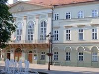 The building of the former County Hall-Kaposvár